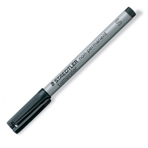 Graphtec Black Fibretip Pens | KF700-BK