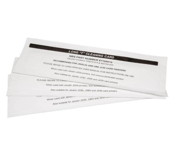 Javelin Cleaning Card Kit Long