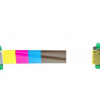Javelin YMCKO Colour Ribbon