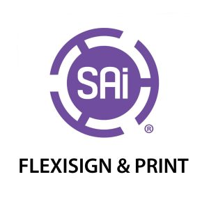 sai flexisign print logo