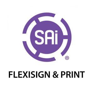 sai flexisign print logo