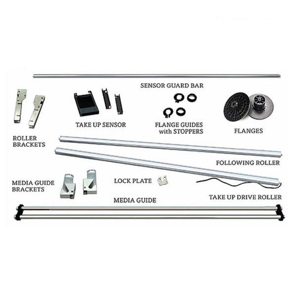 graphtec fc9000 take-up spool - parts list