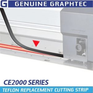 graphtec ce2000 cutting strips