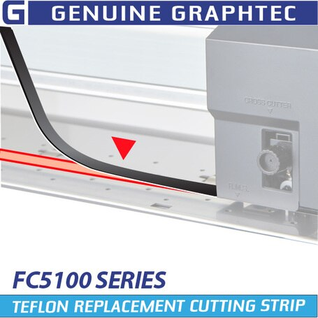 graphtec - fc5100 cutting srips