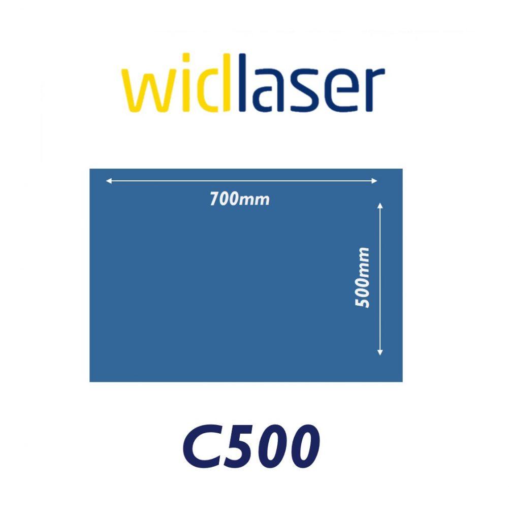 widlaser c500 size chart