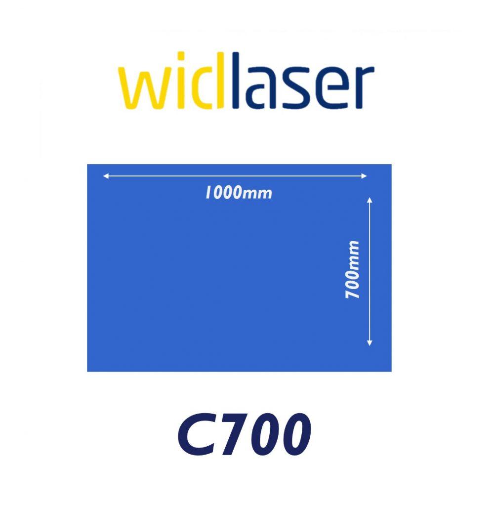widlaser c700 size chart