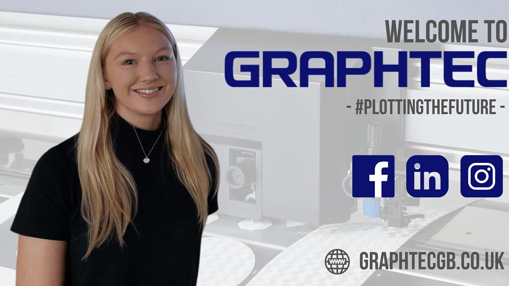 graphtec gb - new sales & marketing assistant - ellie webb
