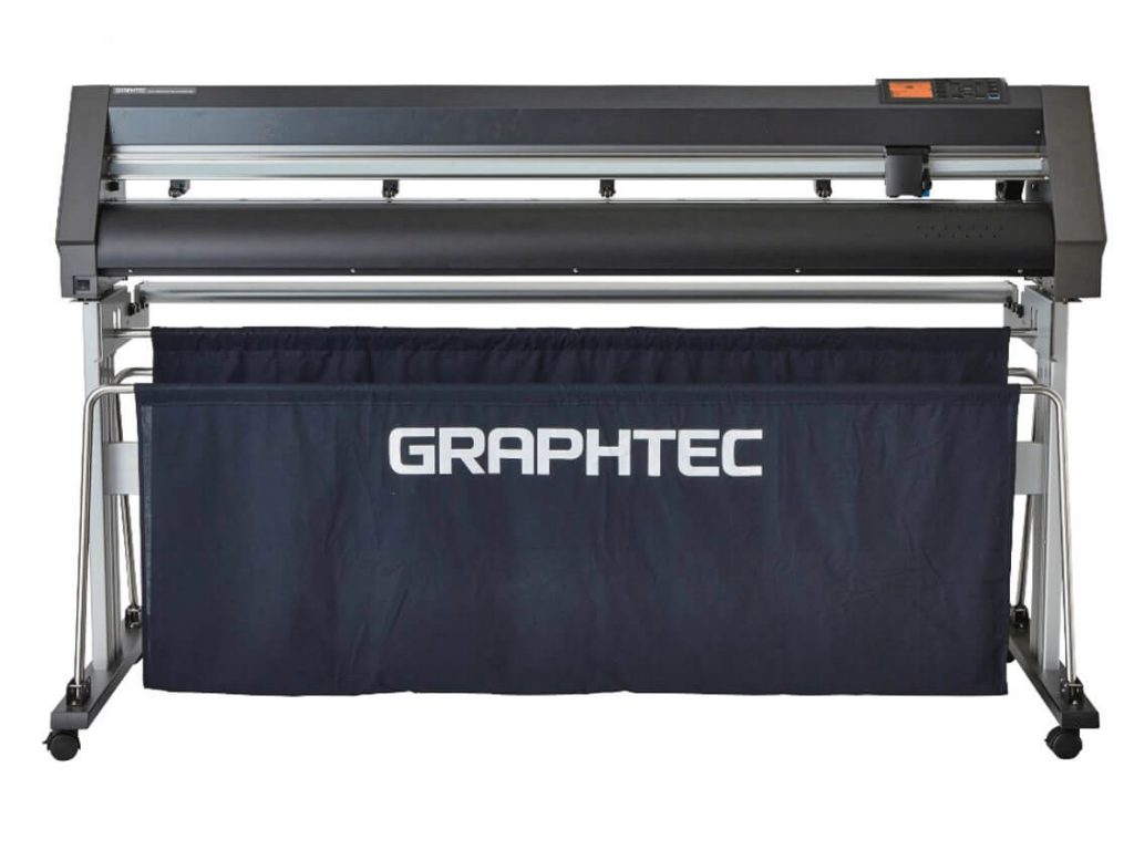 graphtec ce7000-160 - with stand - front
