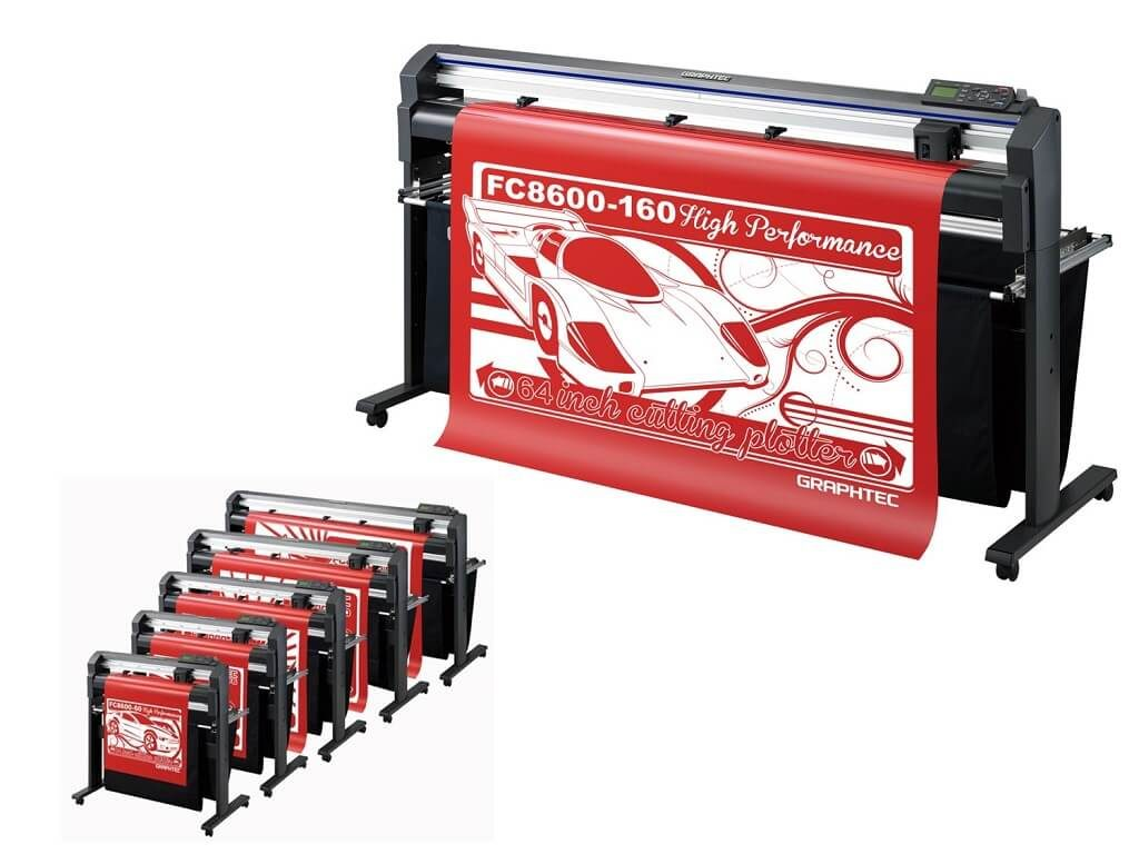 graphtec gb - fc8600 series cutting potter - wide